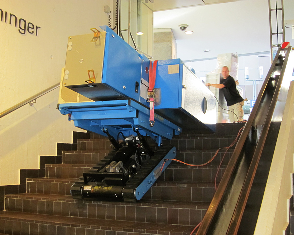 TT 1000 stair climber with a capacity of 1,000 kg - Heavydrive
